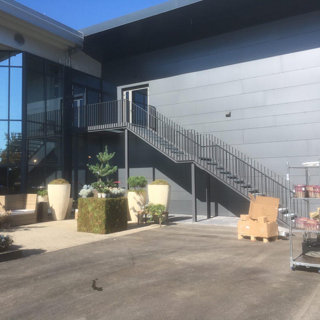 Erweiterung Großhandelszentrum für Floristik Altdorf